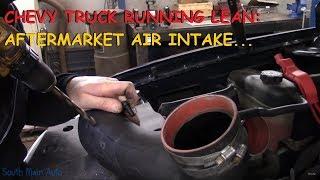 Chevy / GMC Truck - Running Lean P0171 &  P0174
