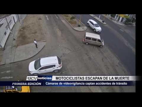 Víctor Larco: Cámaras de vigilancia captan accidentes de tránsito