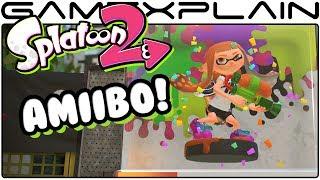 Scanning amiibo in Splatoon 2 (Nintendo Switch)