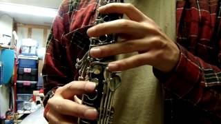 Amati Kraslice ACL 314 Clarinet Demo Video