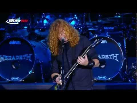 Megadeth live SWU 2011