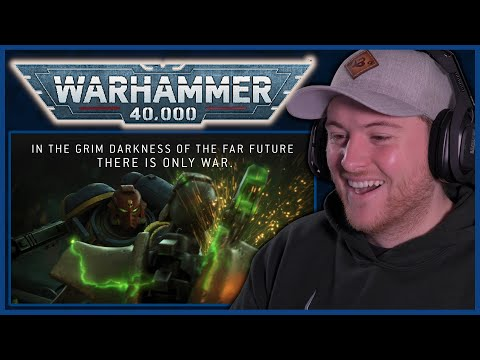 Royal Marine Reacts To Warhammer 40,000 The New Edition Cinematic Trailer