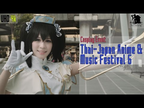[4k UHD] Cosplay: Thai -Japan Anime Music Festival 6 @ CentralWorld (Bangkok, Thailand) May 2016