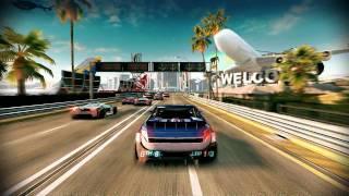 Split Second Velocity HD Pc game (gameplay) good start