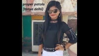 super model tanya's mindblowing performance | proper patola | energetic dance |sapna Tanya delhi