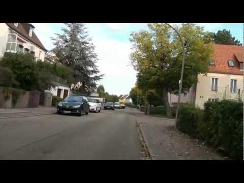 Feuerbach, Stuttgart - Μια βόλτα με ποδήλατο.