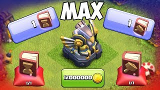BOOK OF EVERYTHING... USED! MAJOR TOWNHALL 12 UPGRADES IN Clash Of Clans!