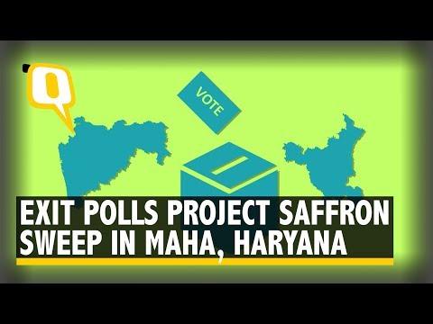 BJP to Sweep Maha, Haryana Elections: Exit Polls