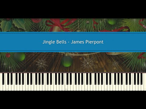 Jingle Bells  James Pierpont Piano Tutorial
