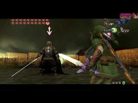 Zelda Twilight Princess Dolphin (1080 60fps)-#21 Bonus-Ganondorf Battle Fishing Rod