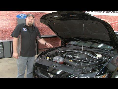 2015-2017 Mustang GT Airaid Cold Air Intake Kit Installation