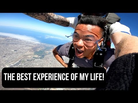 SKYDIVING IN SAN DIEGO!!!!