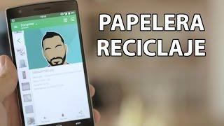 Papelera de reciclaje para Android - Con borrado automático