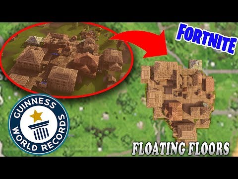 DUSTY DIVOT Filled In + We Built A WHOLE TOWN!!! (Fortnite Battle Royale Clips)