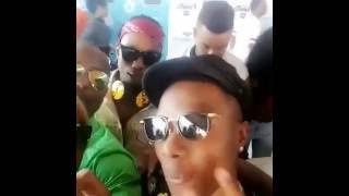 Utakipenda hiki kiingereza cha Shilole akiongea na Wizkid!