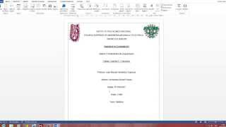 Cómo hacer un indice en Office Word 2013 thumbnail