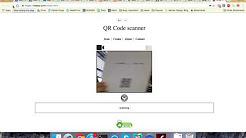 Javascript Barcode Scanner using Quagga