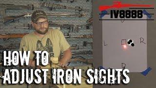 How To Adjust Iŗon Sights