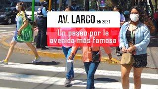 Caminando por Larco Miraflores Lima Peru 2021, Miraflores en 4k, lima peru walk 4k