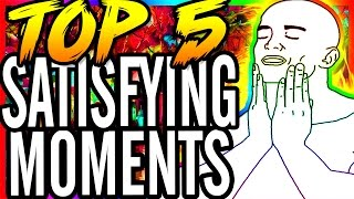 top 5 satisfying moments best moments cod zombies saga waw bo bo2 aw zombies