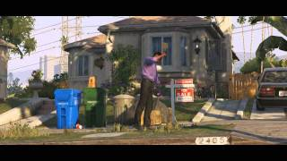 Grand Theft Auto 5 Official Trailer [HD]