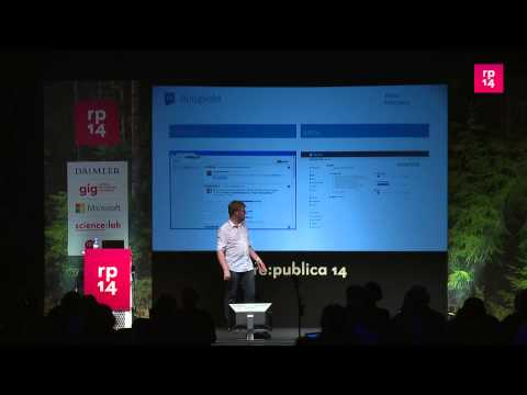 re:publica 2014 - Jonas Westphal: Web 1.0 + 2.0 remixen... on YouTube