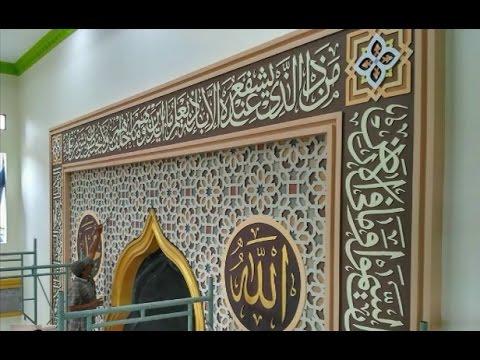 kaligrafi ornamen masjid nusagates kaligrafi ornamen masjid nusagates