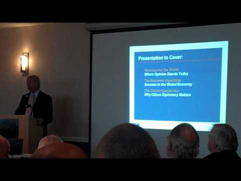 Part 1: Business for Diplomatic Action Presentation to Vermont Business Community