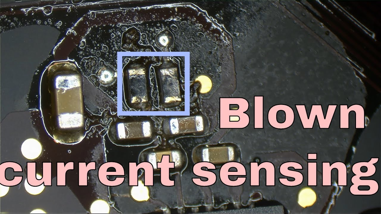 Macbook Pro Retina Dead No Power Due To Bad Current Sensing Circuit Currentsensorcircuit1jpg