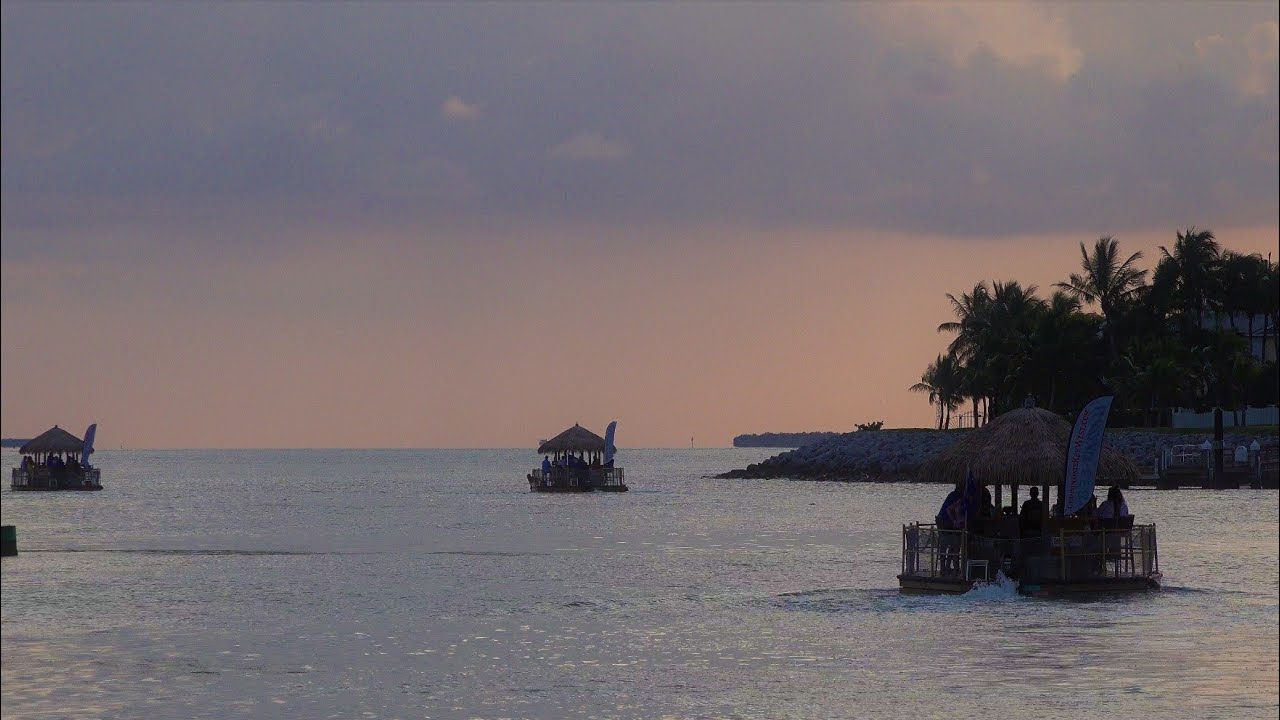 Welcome to Key West ! ( Florida Keys Boats and Sunset)