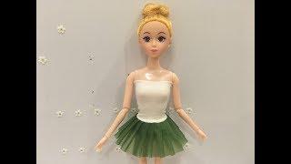 #118 May váy ba lê cho búp bê