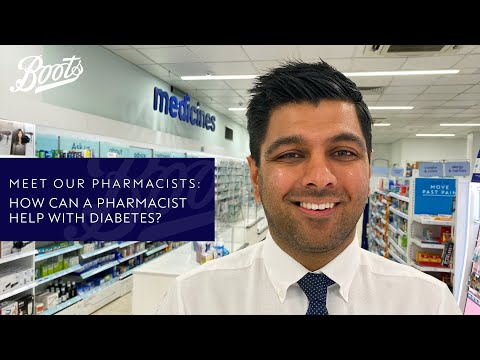 Meet our Pharmacists | How can a Pharmacist help with Diabetes? | Boots UK