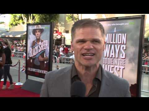 A Million Ways to Die in the West: Evan Jones Red Carpet Premiere