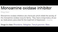 Monoamine Oxidase (MAO) Inhibitors - Mechanism, Clinical Use & Toxicity