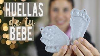Conserva las huellas de tu bebé por siempre | DIY huellas con masa de sal | Mundo Mom
