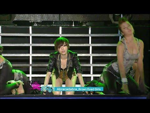 【TVPP】Brown Eyed Girls - Abracadabra, 브아걸 - 아브라카다브라 @ Incheon Korean Music Wave Live