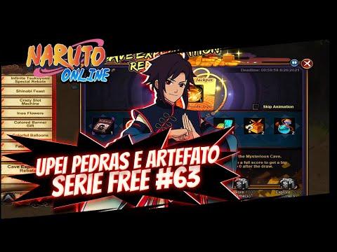 GASTEI 3150 CHAVES NA CONTA FREE 63  Naruto Online