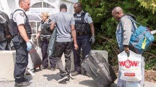 What does each asylum seeker cost Canada?