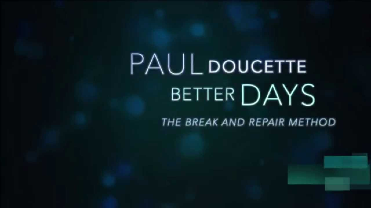 Better Days - Paul Doucette(Official Lyrics Video) HD