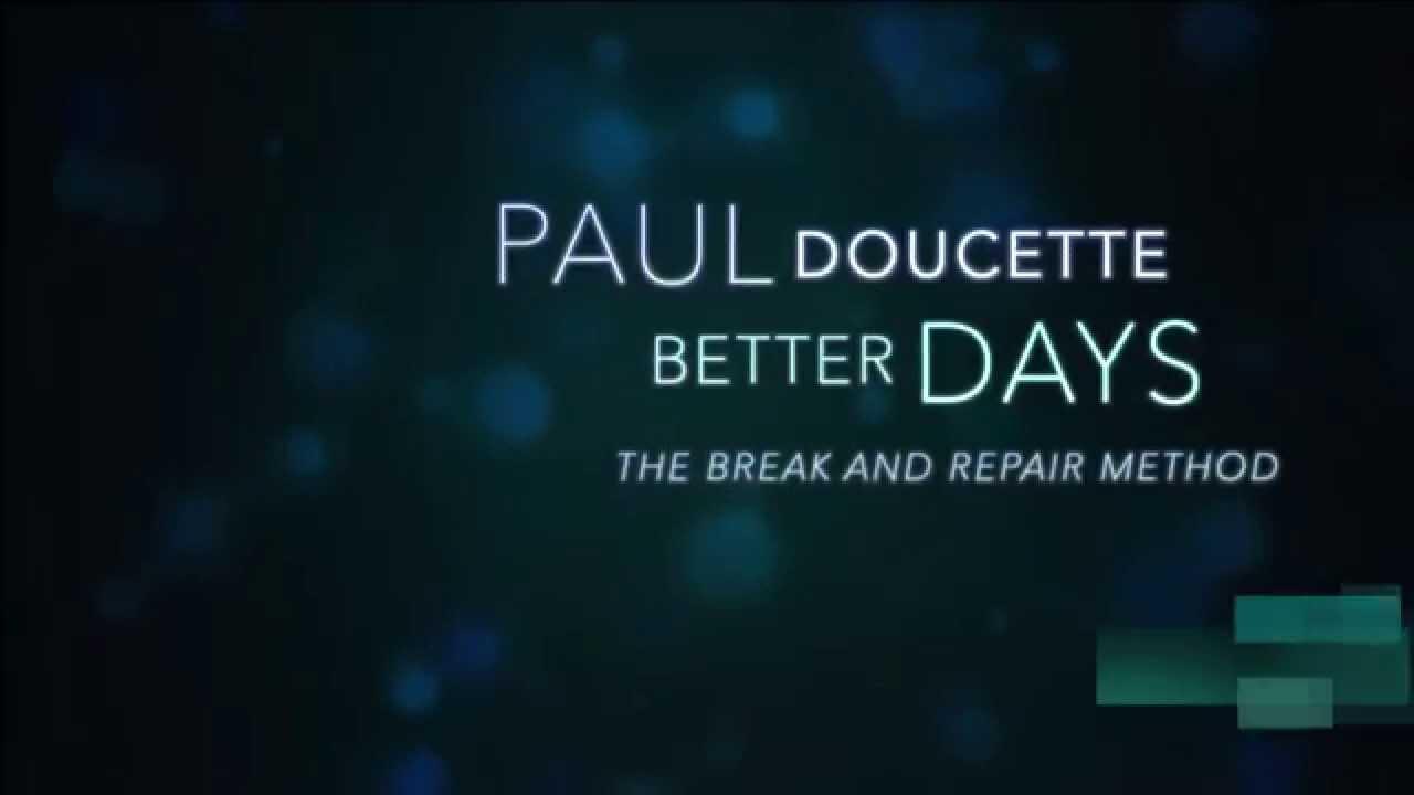 Better Days - Paul Doucette(Official Lyrics Video) HD