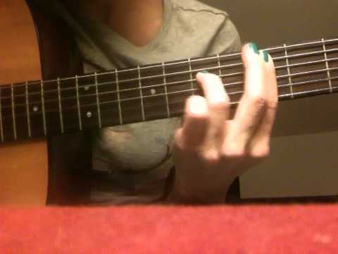 Real Love- Mary J. Blige guitar demonstration