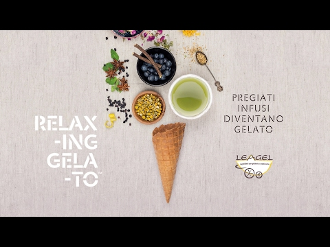"""Relaxing Gelato, quality tisanes are turned into ice cream (spot 60"""")"""