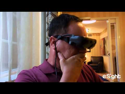 New Goggles Allow Man See For First Time In 20 Yrs