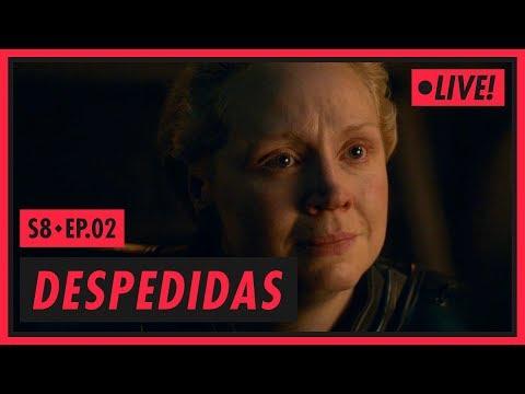 ARYA, BRIENNE E UMA CANÇÃO | Game of Thrones S08E02
