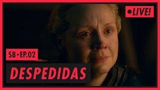 ARYA, BRIENNE E UMA CANÇÃO | Game of Thrones S08E02 (COMEÇA ÀS 21H)