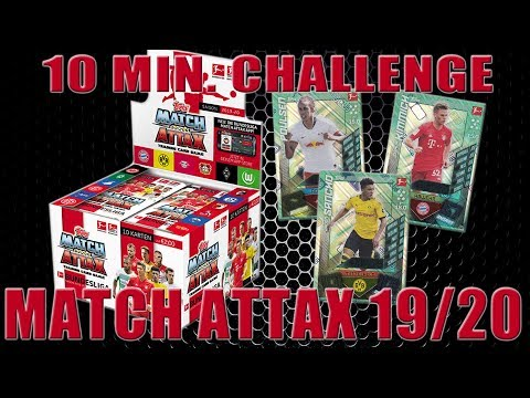Topps Bundesliga Match Attax 2019 20 10 Minutes Challenge Unboxing