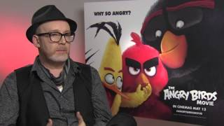 How ANGRY BIRDS Went From A Game To A Movie - Interview With Director Fergal Reilly