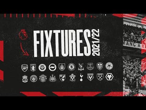 Manchester United | Premier League Fixtures 2021/22 | Man City, Liverpool, Chelsea, Arsenal, Spurs