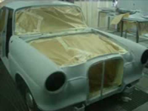 sg classic car restoration mercedes w110 190c youtube. Black Bedroom Furniture Sets. Home Design Ideas