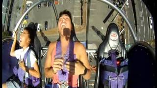 sling shot bungee sky screamer reaction of the year 2013